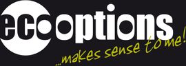 Eco Options logo with tagline